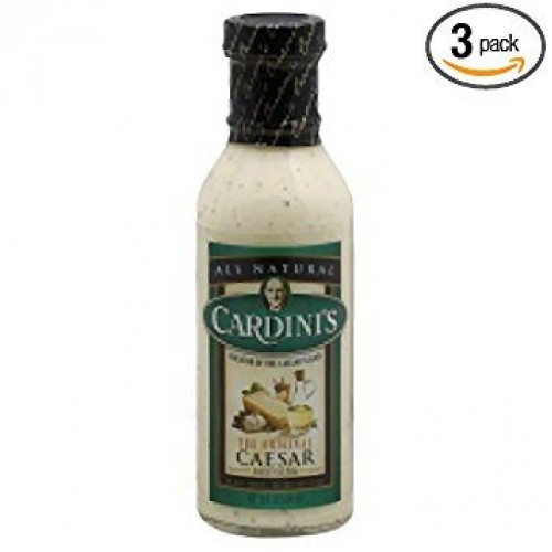 Cardinis The Original Caesar Dressing 12 Oz Pack of 3