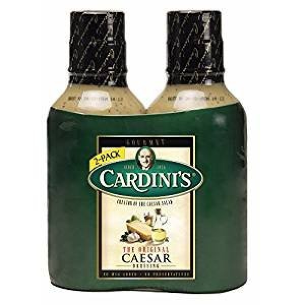 Cardinis Caesar Dressing, 2 pk./20 oz.