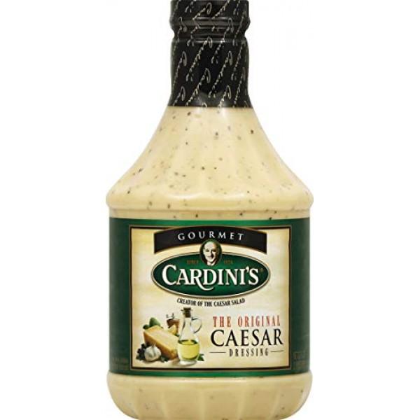 Cardinis Original Caesar Dressing, 32-Ounce Bottles