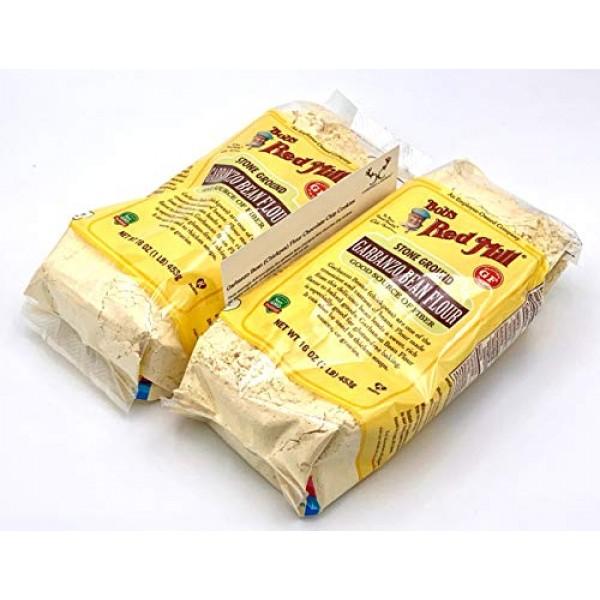 Bobs Red Mill Garbanzo Bean Flour Bundle. Includes Two 216oz P...