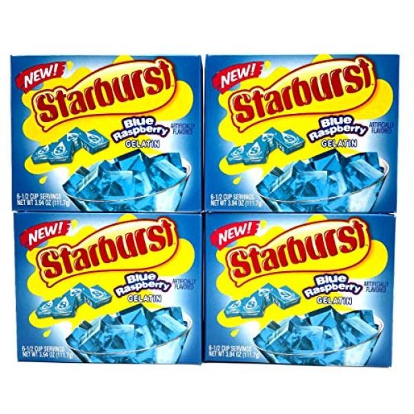 Starburst Jello Shot Bundle: Starburst Blue Raspberry Jello Gela...