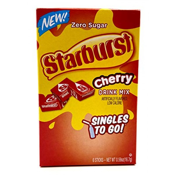 Starburst Singles To Go Bundle With Gummy Bears Recipe Card from...