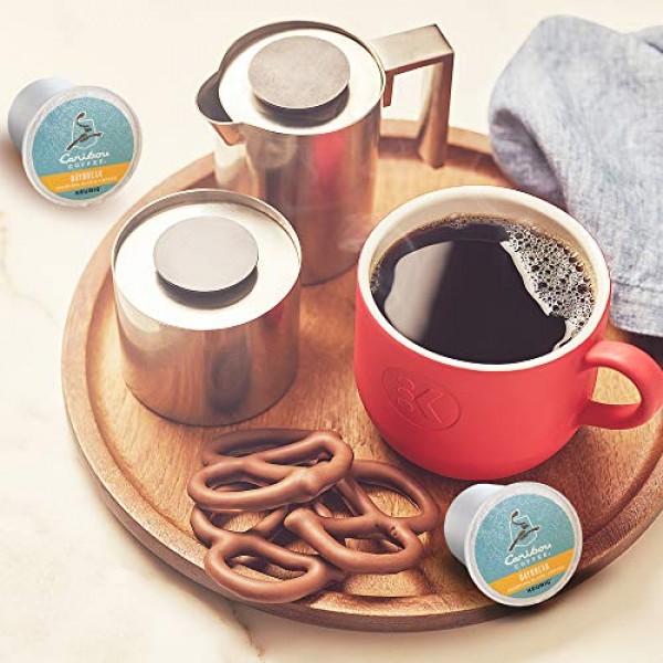 Caribou Coffee Daybreak Morning Blend, Single-Serve Keurig K-Cup...