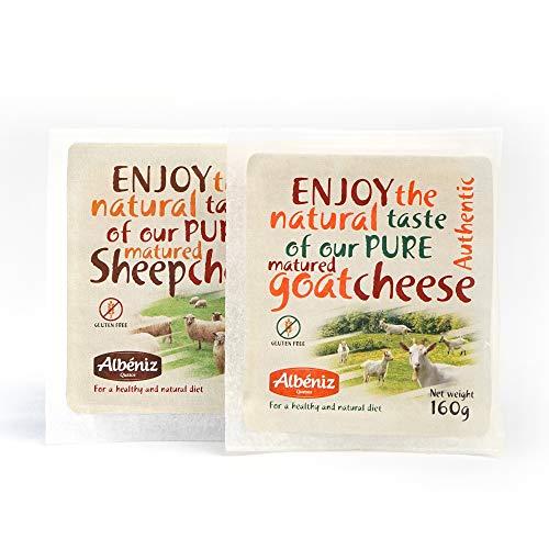 Goat Cheese + Sheep Cheese sampler 11.2 Oz total