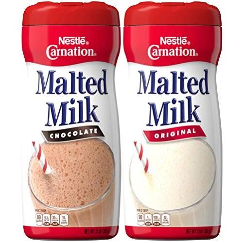 Nestle Carnation Malted Milk Powder, Chocolate and Orginal Flavo...