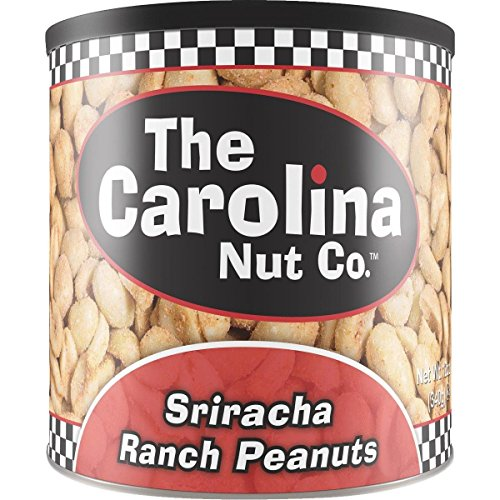 The Carolina Nut Company, Sriracha Ranch Peanuts, 12 Oz