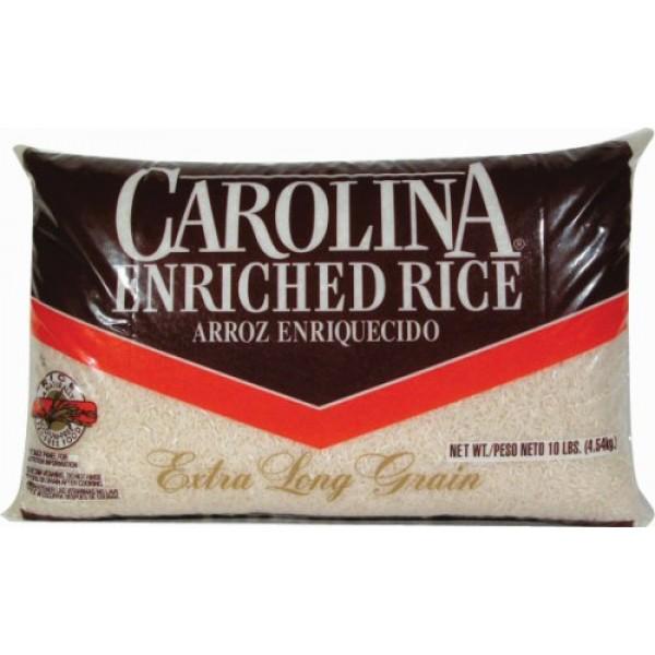 Carolina Enriched Extra Long Grain Rice, 10 Lb