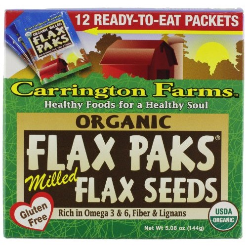 Carrington Farms Organic Ground Milled Flax Seed, 12 Count Easy ...