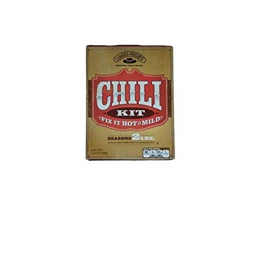 Carroll Shelbys Original Texas Chili Kit, Pack of 3