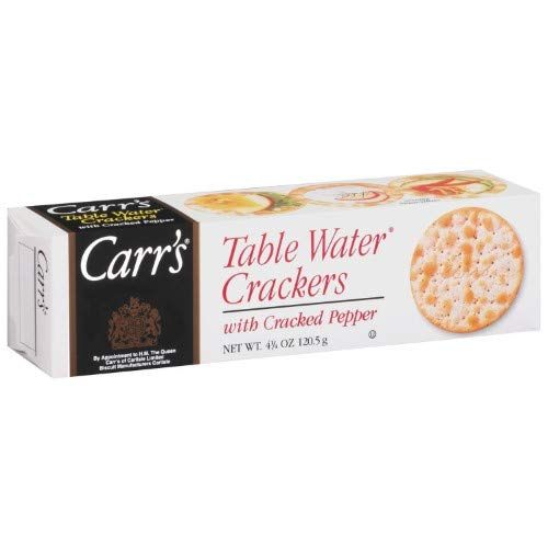 Carrs, Table Water Crackers, Cracked Pepper Pack of 2