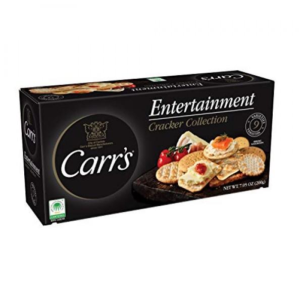 Carrs Entertainment Collection Crackers, 7.05 Oz