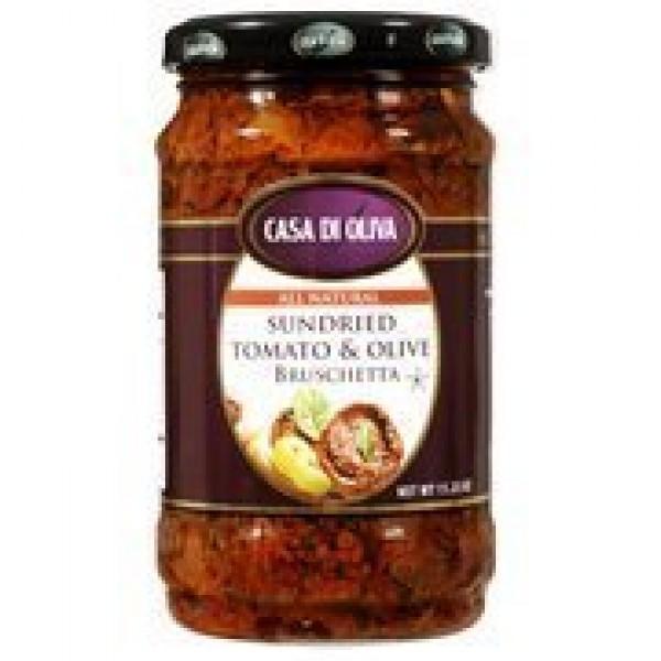 Casa Di Oliva Sun Dried Tomatoes in Olive Oil 11.25 Oz Pack of 2