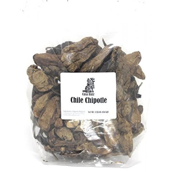 Chile Chipotle - Meco Mexican Chili Peppers - Casa Ruiz Brand - ...