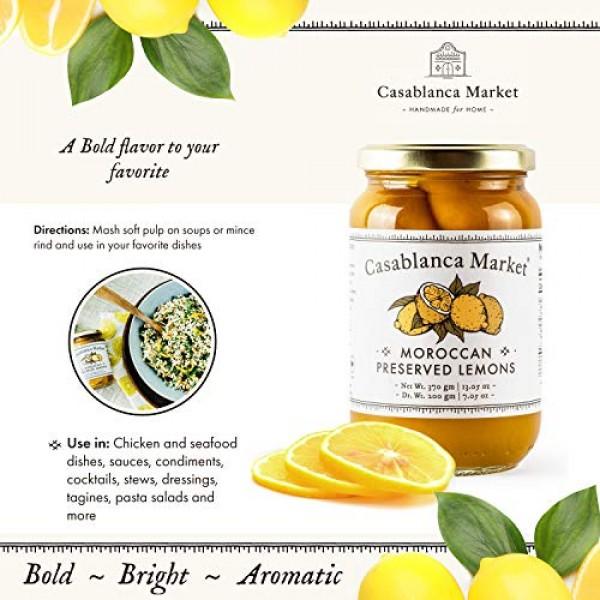 Casablanca Market Moroccan Preserved Lemons All Natural Aromatic...