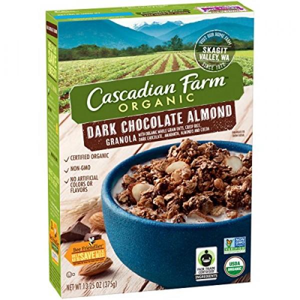 Cascadian Farm: Organic dark chocolate almond Granola 1 x 13.25...