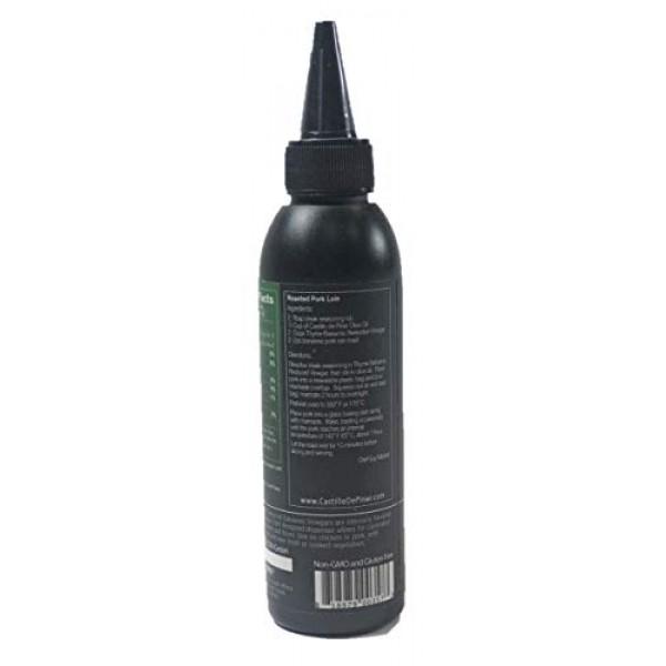 Castillo de Piñar Thyme Balsamic Reduced Vinegar 150ml, Non-GMO....