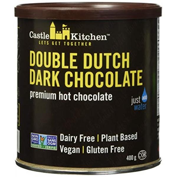 Castle Kitchen Double Dutch Dark Chocolate - Dairy-Free, Vegan P...