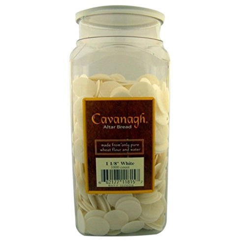 Cavanagh Altar Bread - 1 1/8 White - 1000/Container