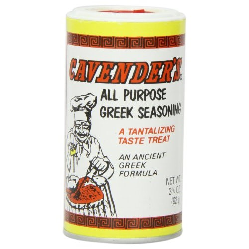 Cavenders Greek Seasoning, 3 1/4-Ounce Shakers Pack of 12