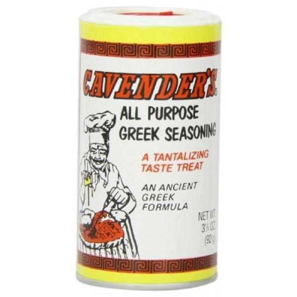 Cavenders Greek Seasoning, 3 1/4-Ounce Shakers Pack of 12