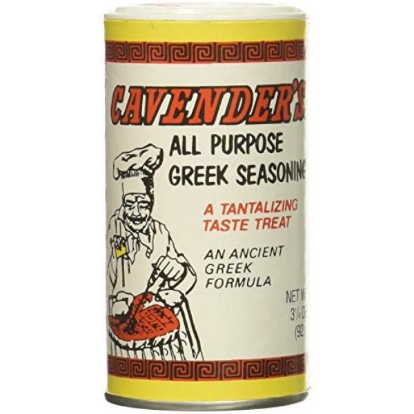 Cavender All Purpose Greek Seasoning 3.25 OZ Pack of 2