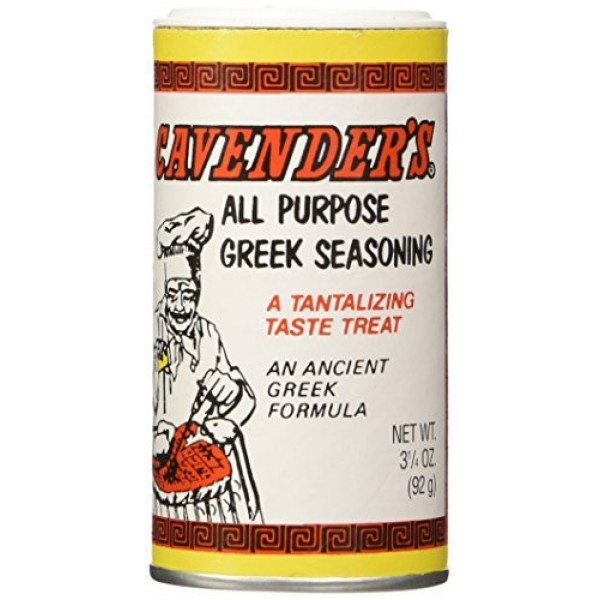 Cavenders All Purpose Greek Seasoning, CASE, 4x5lb