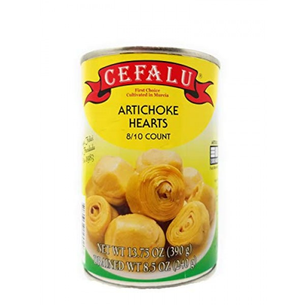 Artichoke Hearts 3 Pack by Cefalu 13.75 Ounce Can Each Product...