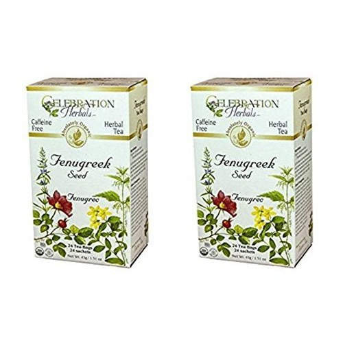 Celebration Herbals - Organic Caffeine Free Fenugreek Seed Herba...
