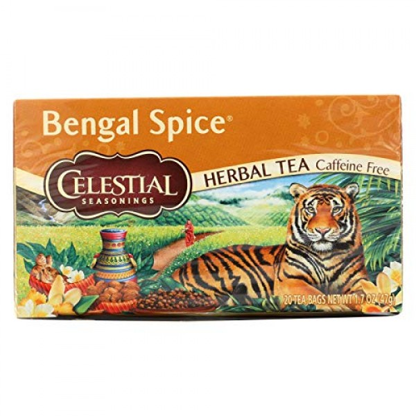 Celestial Seasonings Herbal Tea, Bengal Spice, 2 Pack