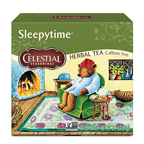 Celestial Seasonings Herbal Tea, Sleepytime, 40 Count Pack of 6