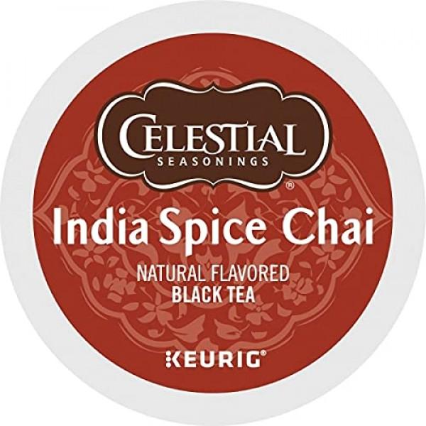 Celestial Seasonings Original India Spice Chai Tea Single-Serve ...
