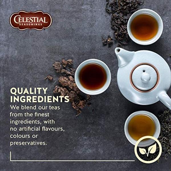 Celestial Seasonings Herb Tea Honey Vanilla Chamomile, 20-count ...