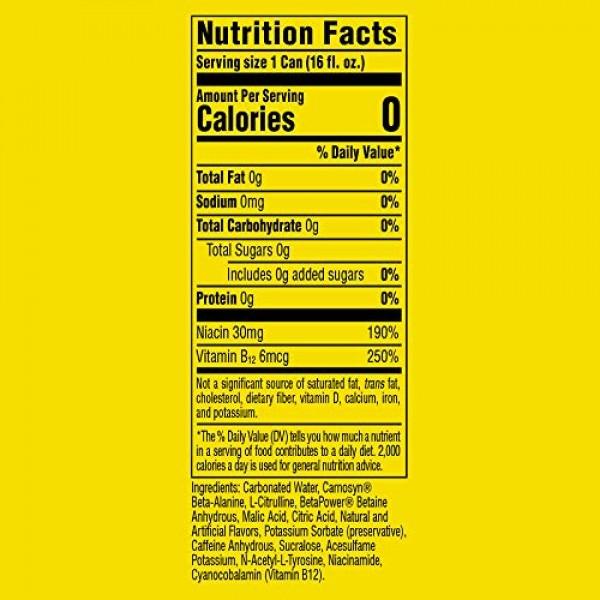 C4 Original Sugar Free Energy Drink 16oz Pack of 12   Frozen B...