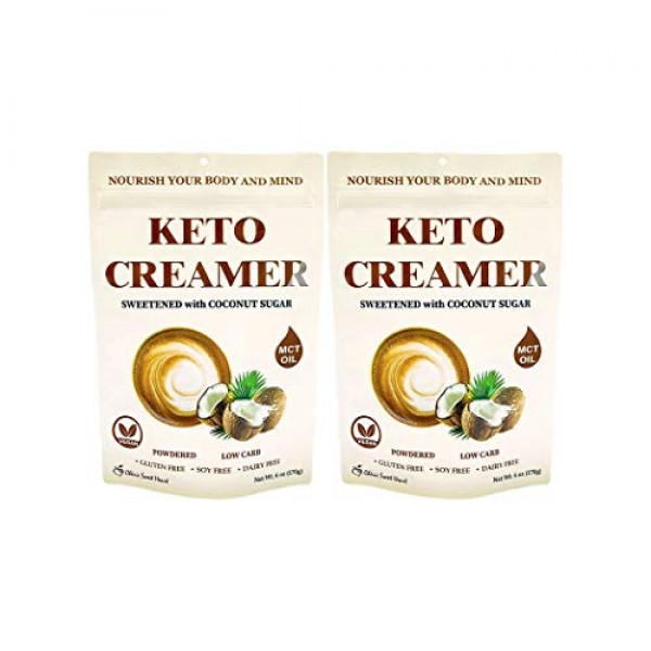 Cherie Sweet Heart Keto Creamer With MCT Oil, Sweetened With Coc...