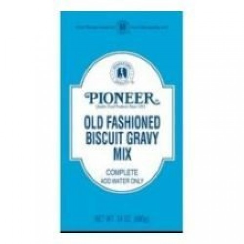 Pioneer Old Fashioned Biscuit Gravy Mix, 24 Ounce -- 6 per case....