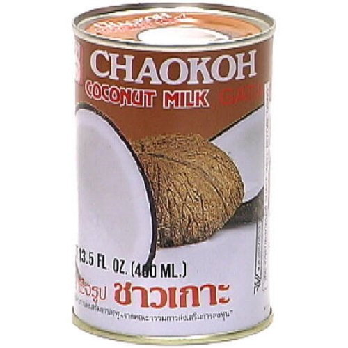 Chaokoh Coconut Milk, 13.5-Ounce Pack of 8