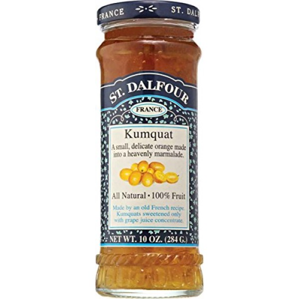 Charles Jacquin-St.Dalfour Marmalade, Kumquat, 10-Ounce Pack of 6