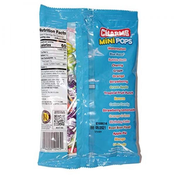 Charms 1 bag Mini Pops Candy Lollipops - Peanut & Gluten Free ...