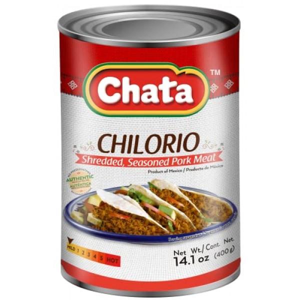 Chata Pork Chilorio Can | Shredded, Seasoned Pork Meat | Ready-t...