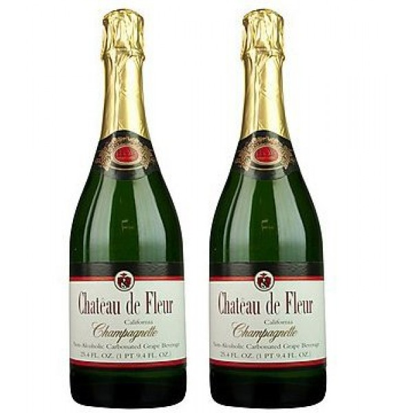 Chateau De Fleur Non-alcoholic Sparkling Wine Champagne Alternative