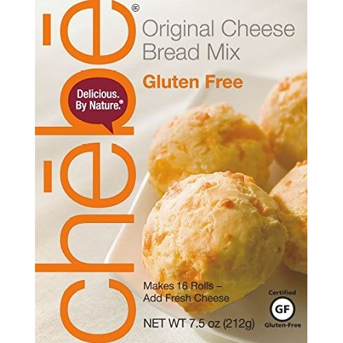 Chebe Bread Original Cheese Bread Mix, Gluten Free, 7.5-Ounce Ba...