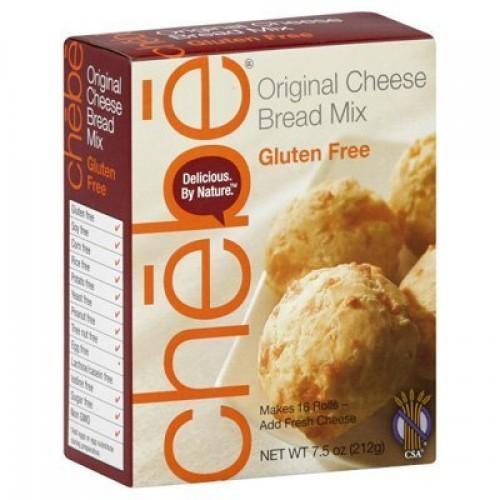 CHEBE BREAD Gluten Free Original Mix, 7.5 OZ