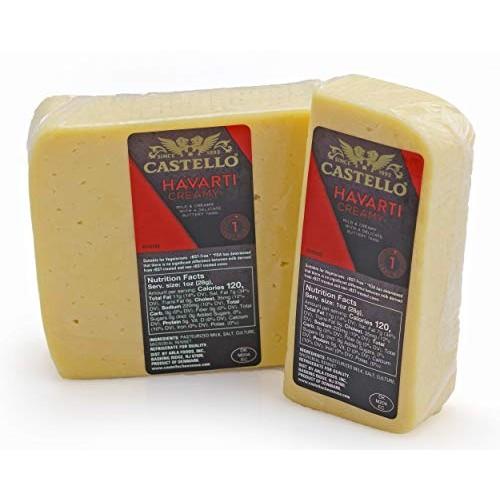 Havarti Cheese - Danish Havarti Cheese 16 oz.