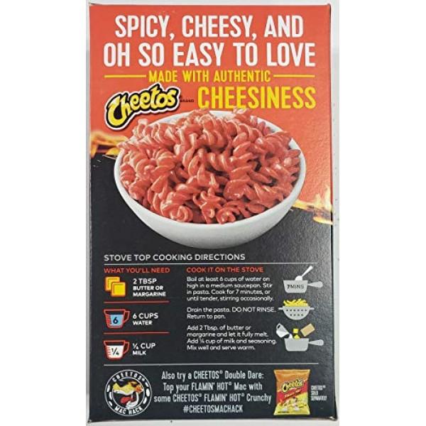 Cheetos Mac N Cheese 5.6 oz Flamin Hot, 3 Pack