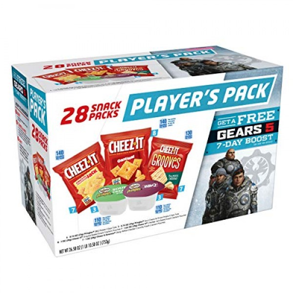 Kelloggs All Day Snacks, Variety Pack of 28