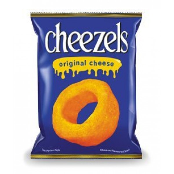 Cheezels Original Cheese Snack 2.11 oz 60 g. x 3 bags