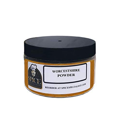 Spice Specialist Worcestershire Powder in a 4oz jar holds 3 oun...