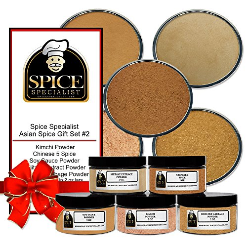 Spice Specialist Asian # 2 Gift Kit - Our Asian Cuisine Set Cont...