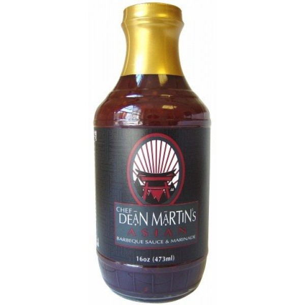 Chef Dean Martins Asian BBQ Sauce and Marinade