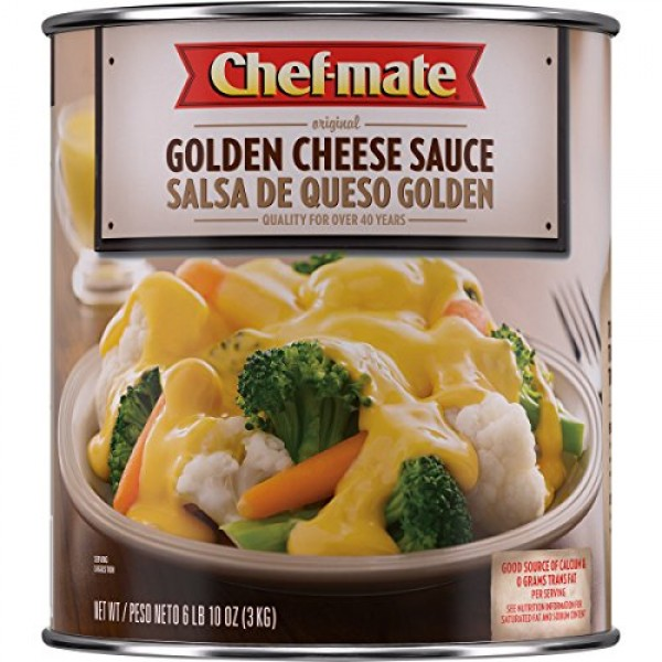 Chef-mate Original Golden Cheddar Cheese Sauce, Canned Food for ...